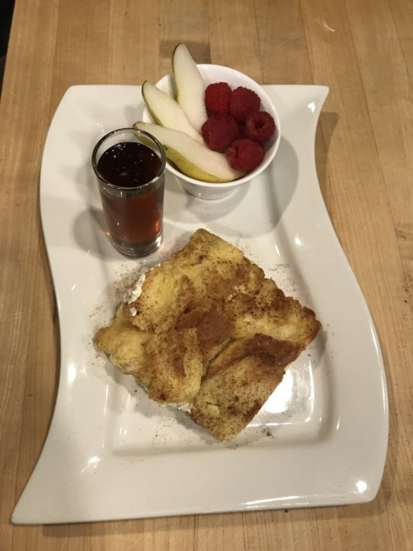 French Toast Strata Included at Good Medicine Lodge