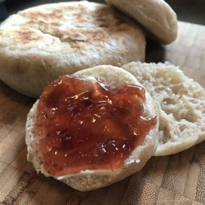 Good Medicine Lodge Sourdough English Muffins with Local Jam