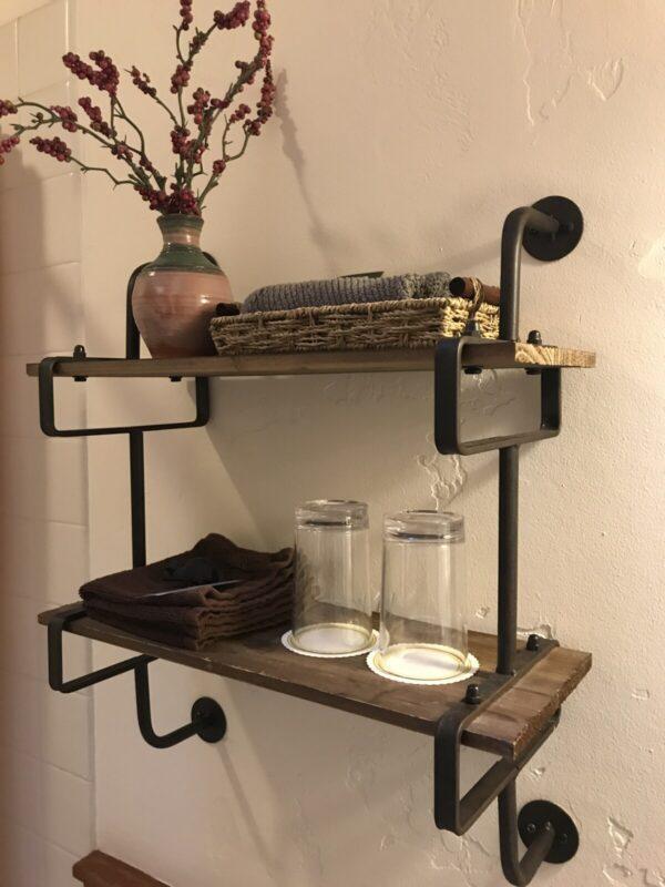 Black Bear Bathroom Good Medicine Lodge Bed and Breakfast Whitefish Montana
