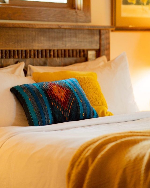 Aspen Bedroom Good Medicine Lodge Bed and Breakfast Whitefish Montana