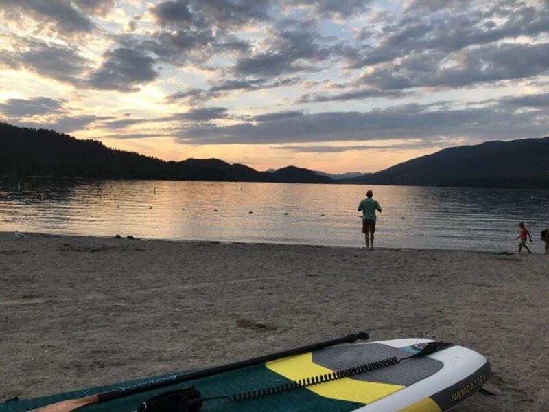 Good Medicine Lodge City Beach Paddle Boarding