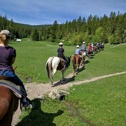 Horseback Riding in Kalispell Whitefish Montana