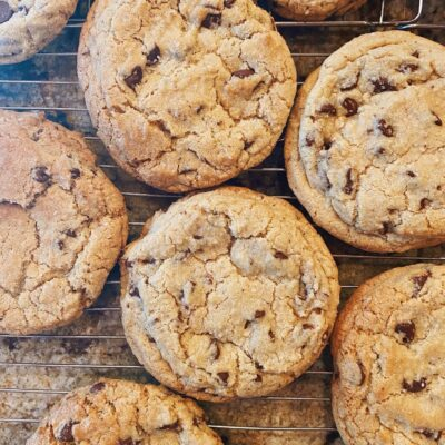 Chocolate Chip Cookie with Sea Salt Good Medicine Lodge Bed and Breakfast