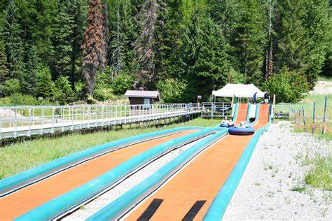 Summer Tubing Big Easy Carpet Whitefish Mountain Resort Summer Things To Do