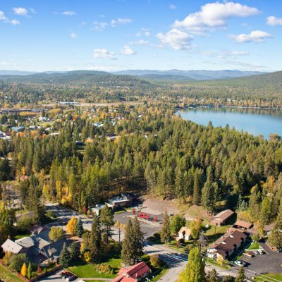Whitefish Montana home of Good Medicine Lodge, Bed and Breakfast
